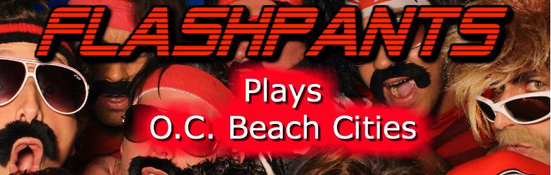FlashPants Orange County Beach Cities