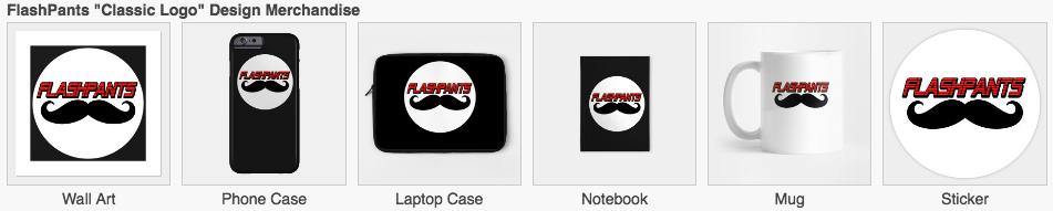 flashpants merchandise 3